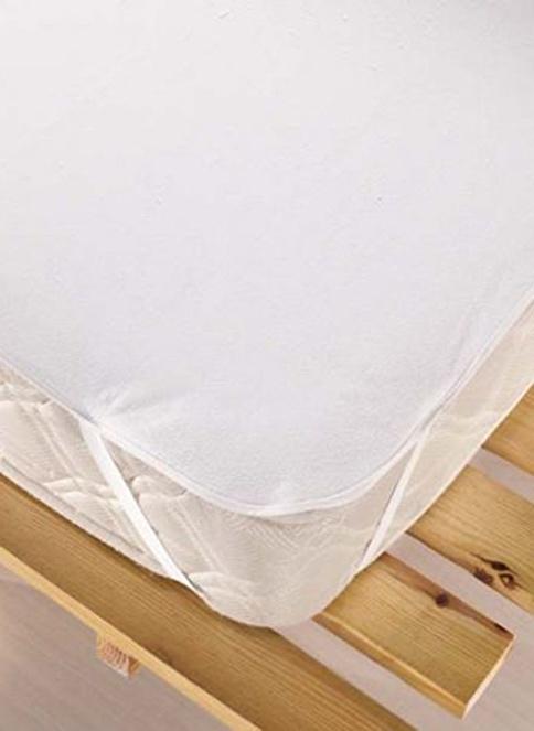 Eponj Home Sıvı Geçirmez Alez 180x200  Beyaz